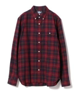 Pilgrim Surf+Supply / BUBBIE BUTTON DOWN - Herringbone
