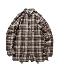 nonnative for Pilgrim Surf+Supply / TOURIST LONG SHIRT