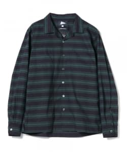 【予約】Pilgrim Surf+Supply / VINCENT Printed Camp Shirt