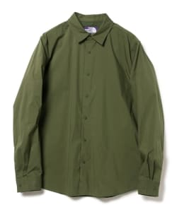 THE NORTH FACE PURPLE LABEL / Stretch Typewriter Shirt