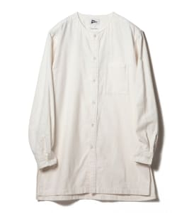 【1/11~再値下げ】Pilgrim Surf+Supply / RIAZ Collarless Long Shirt