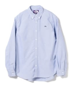THE NORTH FACE PURPLE LABEL / Cotton Polyester OX B.D. Shirt