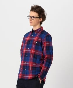【予約】Pilgrim Surf+Supply / Bubbie B/D Check Shirts