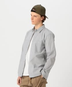 【予約】Pilgrim Surf+Supply / MEL Coolmax Seersucker Snap Shirt