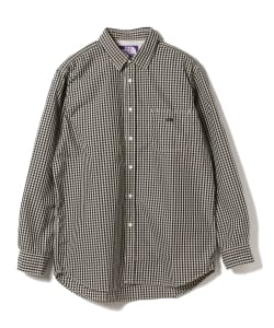 THE NORTH FACE PURPLE LABEL / Cotton Polyester Broad Check Big Shirt