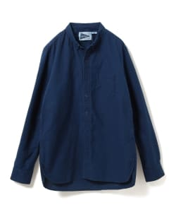 nonnative for Pilgrim Surf+Supply / DWELLER B.D. SHIRT COTTON OXFORD INDIGO OVERDYED