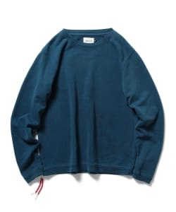CAL O LINE×Pilgrim Surf+Supply / 別注 Indigo Beads Sweat