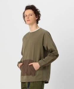 【予約】Pilgrim Surf+Supply / RENNY Reinforced Crew Sweatshirt