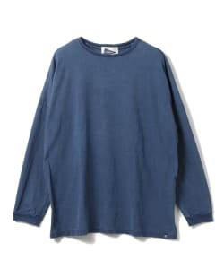 nonnative for Pilgrim Surf+Supply / CLERK L/S TEE COTTON JERSEY INDIGO OVERDYED