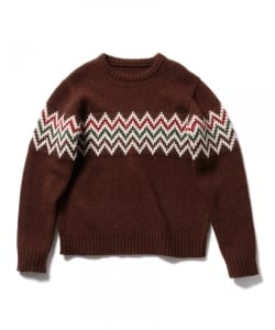 Pilgrim Surf+Supply / LAYTON KOR Intarsia Knit