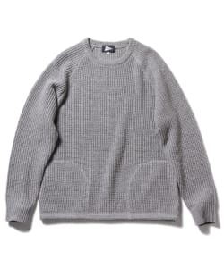 Pilgrim Surf+Supply / GLEN Waffle Pocket Crew Knit