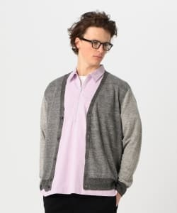 【予約】Pilgrim Surf+Supply / LARSON Linen Cardigan