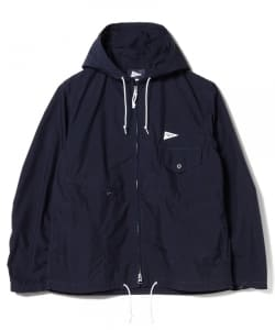 【タイムセール対象品】Pilgrim Surf+Supply / RUSSEL Nylon Zip Parka