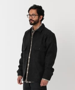 Pilgrim Surf+Supply / CHILTON Melton Shirt Jacket
