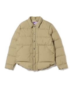 THE NORTH FACE PURPLE LABEL / Lightweight 65/35 Stuffed Shirt