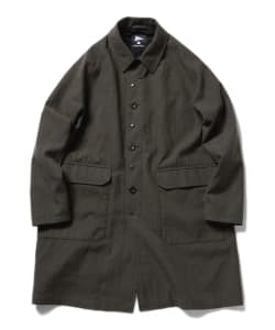 Pilgrim Surf+Supply / CAL Wool Serge Balmacaan Coat