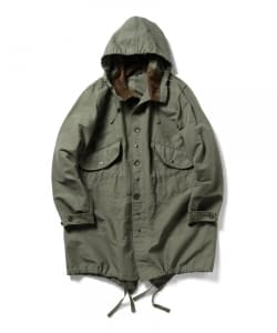 Engineered Garments / Cotton Double Cloth Highland Parka