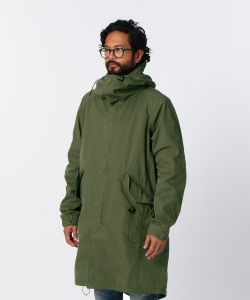 【1/11~再値下げ】nonnative for Pilgrim Surf+Supply / STRANGER HOODED COAT (CORDURA NYLON RIPSTOP)