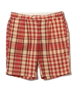 ENGINEERED GARMENTS / Big Plaid Madras Sunset Short