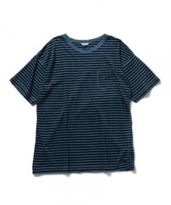 Pilgrim Surf+Supply / Drop Sholder Border T Shirt