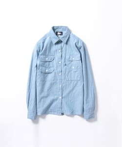 【タイムセール対象品】Pilgrim Surf+Supply /ALBERT Fishing Pocket Shirt (W)