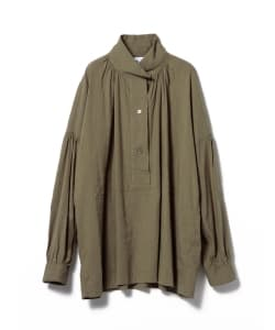 【タイムセール対象品】Pilgrim Surf+Supply / LEE ANN Gathered Popover Tunic