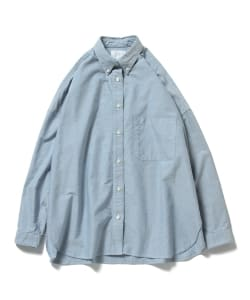【タイムセール対象品】Pilgrim Surf+Supply / DANA Button Down BK Oxford
