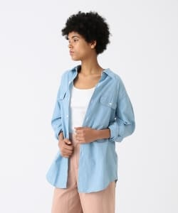 MADISONBLUE / HAMPTON Chambray Shirt Vaio Wash