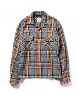 MADISONBLUE / Flap Pocket Check Shirt