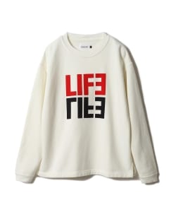 <WOMEN>CAL O LINE × Pilgrim Surf+Supply / 別注 Print Crew Neck