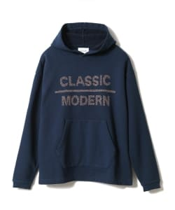 <WOMEN>CAL O LINE × Pilgrim Surf+Supply / 別注 Print Hoodie