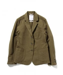 【タイムセール対象 WEB限定】Pilgrim Surf+Supply / FANNY Seersucker Jacket