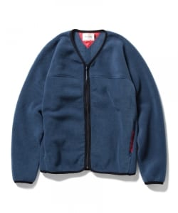 CAL O LINE×Pilgrim Surf+Supply / Fleece Zip Cardigan Special