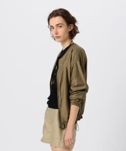 Pilgrim Surf+Supply / Kerwin Satin Bomber Jacket