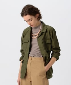 【予約】Pilgrim Surf+Supply / Mary Lou Cotton Army Jacket