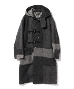 Enginieered Garments / Duffle Coat-Hv.Weight Big Plaid H.B