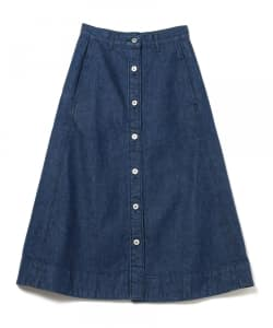 Pilgrim Surf+Supply / GWYN Button Front Skirt