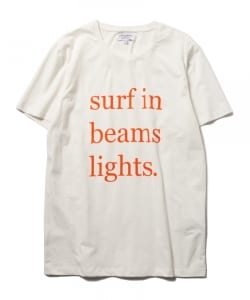 CUISSE DE GRENOUILLE×BEAMS LIGHTS / 40th別注 サーフプリントTシャツ