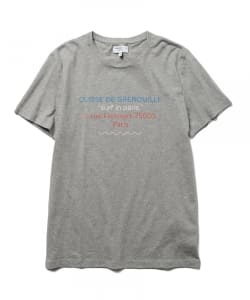 CUISSE DE GRENOUILLE×BEAMS LIGHTS / 40th別注 ロゴプリントTシャツ