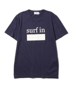 CUISSE DE GRENOUILLE×BEAMS LIGHTS / 40th別注 surfプリントTシャツ