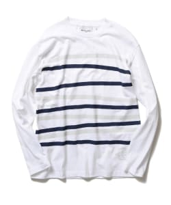 BEAMS LIGHTS with MIC*ITAYA / Now Border Long Sleeve T-Shirt