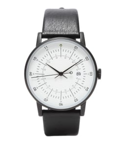 SQUARE STREET / SQ38 Plano watch PS-03 WHITE×BLACK