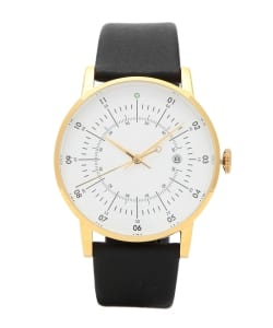 SQUARE STREET / SQ38 Plano watch PS-06 WHITE×GOLD