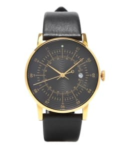 SQUARE STREET / SQ38 Plano watch PS-36 BLACK×GOLD