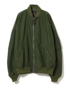 ALPHA INDUSTRIES × BEAMS LIGHTS / 別注ポケッタブル MA-1