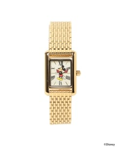 DISNEY WATCH / MICKEY GOLD WATCH