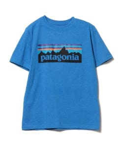 Patagonia / ボーイズ ロゴ Tシャツ (5~12y)