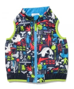 Patagonia / 15 Baby Reversible Puff-Ball Vest (12m~5y)