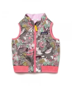 Patagonia / 16 Baby Reversible Puff-Ball Vest (12m~5y)