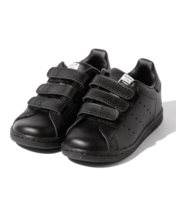 adidas / STAN SMITH CF WB BLACK (12~16.5cm)